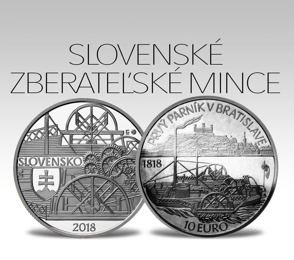 Slovenské zberateľské mince